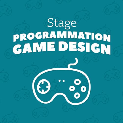 Image de STAGE PROGRAMMATION JEUX VIDEO GAME DESIGN - Du lundi 30 Octobre au mercredi 01 Novembre de 14h00 à 16h00