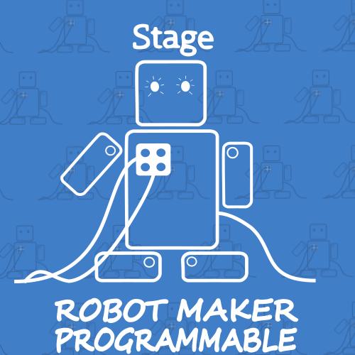 Image de STAGE ROBOT MAKER PROGRAMMABLE- Du lundi 21 au mercredi 23 Août de 13h30 à 15h30
