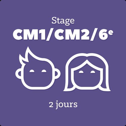 Image de STAGE 2J primaires- Du lundi 14 au mardi 15 Avril de 9h30 à 17h30