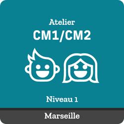 Image de ATELIER SUIVI : Tous les samedis de 13:30 à 14:45 (CM1/CM2 année 1 Marseille)