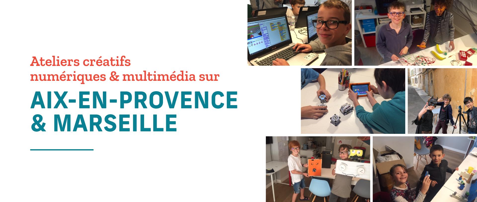 ateliers aix et Marseille