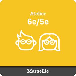 Image de ATELIER SUIVI : Tous les samedis de 11:05 à 12:35 (collégiens 6e/5e Marseille)
