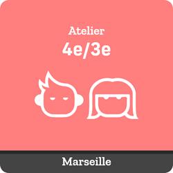 Image de ATELIER SUIVI : Tous les samedis de 9:30 à 11:00 (collégiens 4e/3e Marseille)