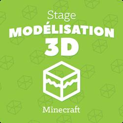 Image de STAGE MODELISATION 3D MINECRAFT: du lundi 26 au mardi 27 Juillet de 9h30 à 12h