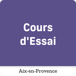 Image de COURS D'ESSAI Aix- Mercredi 16 Juin de 10:30 à 12:00