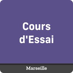 Image de COURS D'ESSAI à distance/Marseille- Samedi 20 Février de 11:05 à 12:35
