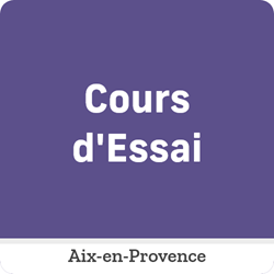 Image de COURS D'ESSAI - Samedi 20 Février de 11:05 à 12:35 à Aix
